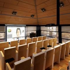 Mimoza Mimarlık – SALON 2 :  tarz Ofis Alanları