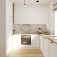 Rustic style kitchen by SO INTERIORS ARCHITEKTURA WNĘTRZ Rustic Wood Wood effect