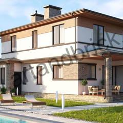 Дом в Мартемьяново: Дома в . Автор – Архитектурное бюро Art&Brick