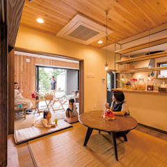 Dining room by HAPTIC HOUSE,