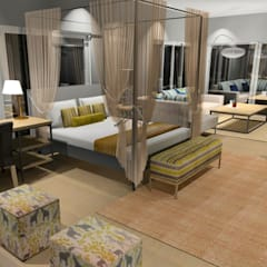 Bedroom Interiors:  Bedroom by Carne Interiors, Country