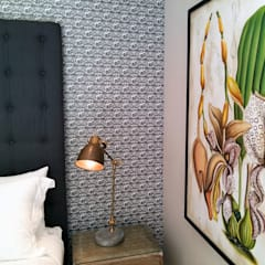Quagga at Maison Noir, Cape Town by Quagga Wallpapers Eclectic