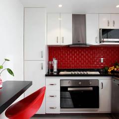 Letrán Valle: Cocinas de estilo ecléctico por All Arquitectura