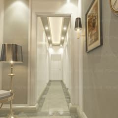 Corridor & hallway by EHAF Consulting Engineers
