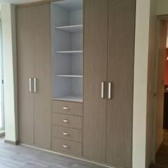 غرفة الملابس تنفيذ simon&diseño