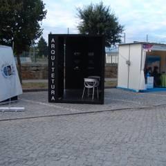 Stand MZP - bienal da pedra 2016: Locais de eventos  por Miguel Zarcos Palma