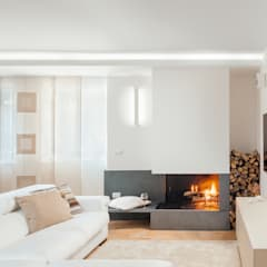 Ruang Keluarga oleh manuarino architettura design comunicazione, Modern