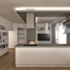 مطبخ تنفيذ Architetto Luigia Pace,