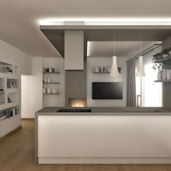 Kitchen by Architetto Luigia Pace,