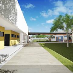 BMW - Centro Social e Recreativo: Locais de eventos  por Szoma Arquitetura