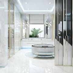 ​  Creative interiors design by Katrina Antonovich:  Spa by Luxury Antonovich Design