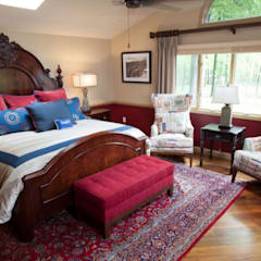 Bedroom by Lux Design Associates