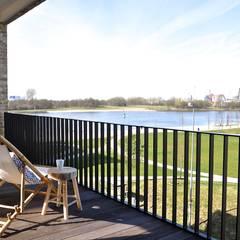 Maritim und männlich:  Terrasse von Karin Armbrust - Home Staging