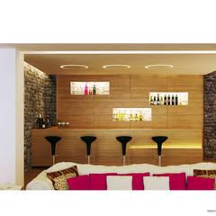 Tepeli İç Mimarlık – Sultan Makamı Konakları - Çengelköy:  tarz Şarap Mahzeni