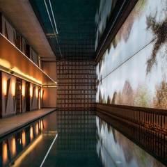 Wandfackel VICLO:  Hotels von Moreno Licht mit Effekt