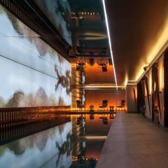 Wandfackel VICLO OXIDADA:  Hotels von Moreno Licht mit Effekt