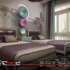 Dormitorios infantiles de estilo  por المجموعة المصرية البريطانية للمقاولات والديكور والتصميم الداخلى