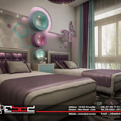 Nursery/kid's room by المجموعة المصرية البريطانية للمقاولات والديكور والتصميم الداخلى,