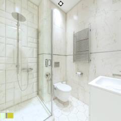 КВАРТИРА ВЫХОДНОГО ДНЯ: Ванные комнаты в . Автор – Мастерская интерьера Юлии Шевелевой
