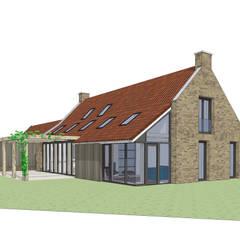Vrijstaand woonhuis in landelijke omgeving: landelijke Huizen door Bram Markerink Bouwkunst