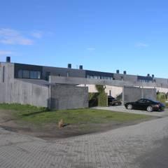 Façetvilla's IJburg:  Garage/schuur door TEKTON architekten