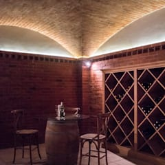 Wine cellar by Tim Ziehl Architects