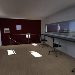: Salas multimedias de estilo  por JIEarq,