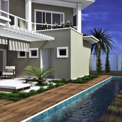 Piscinas de estilo  por PACKER arquitetura e engenharia