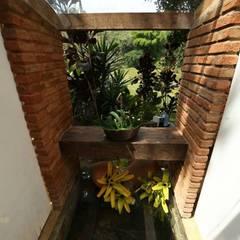 CASA DA FAZENDA: Banheiros  por Mariana Chalhoub