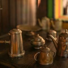 CASA DA FAZENDA: Salas de jantar coloniais por Mariana Chalhoub