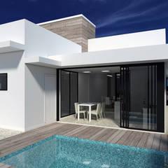 Residência Milne: Casas  por PACKER arquitetura e engenharia