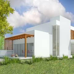 CASA CR: Casas de estilo  por Arquitecta Obadilla,Moderno