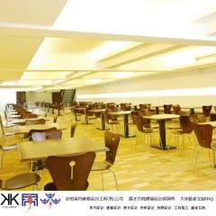 京悅設計 - 成霖集團企業總部Globe UNION Industrial Corp.第一集:  餐廳 by 京悅室內裝修設計工程(有)公司|真水空間建築設計居研所, 簡約風
