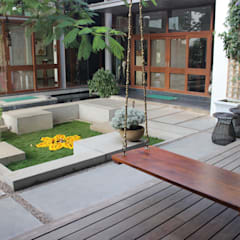 Jardines de estilo  por STUDIO MOTLEY
