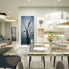 Eye Catching...:  Dining room by Premdas Krishna