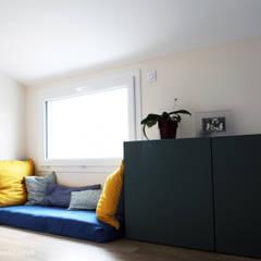 Sur-élévation maison BC: Fenêtres de style  par yg-architecte,