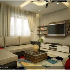 A Class & Royal Look: classic Living room by Premdas Krishna