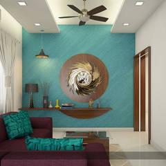 A Class & Royal Look:  Bedroom by Premdas Krishna