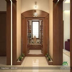 Classic style corridor, hallway and stairs by Premdas Krishna Classic