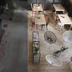 Vista desde planta primera: Bares y Clubs de estilo  de Estudio de Arquitectura Sra.Farnsworth