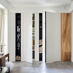 小.曲折|Anti-Sinuous:  窗戶 by 理絲室內設計有限公司 Ris Interior Design Co., Ltd.