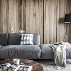 de style  par 理絲室內設計有限公司 Ris Interior Design Co., Ltd., Moderne