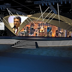 Business award Event:  Event venues by Gurooji Designs