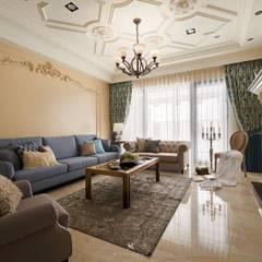 Salas de estilo  por 理絲室內設計有限公司 Ris Interior Design Co., Ltd.
