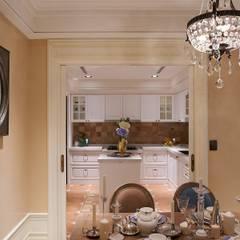 托斯卡尼.Giorno|Tuscan Giorno:  廚房 by 理絲室內設計有限公司 Ris Interior Design Co., Ltd.