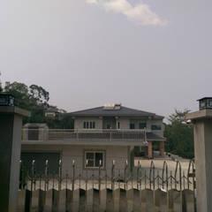 台中新社農舍:  房子 by 小滿工作室