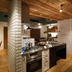 مطبخ تنفيذ homify, إسكندينافي خشب Wood effect