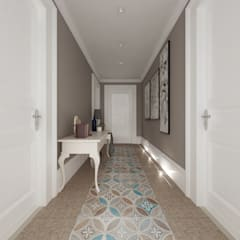 Corridor & hallway by De Vivo Home Design