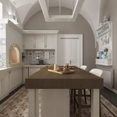 mediterranean Kitchen by De Vivo Home Design