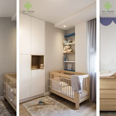 .pokój dziecięcy dla trzech chłopców: styl , w kategorii Pokój dziecięcy zaprojektowany przez Art of home,